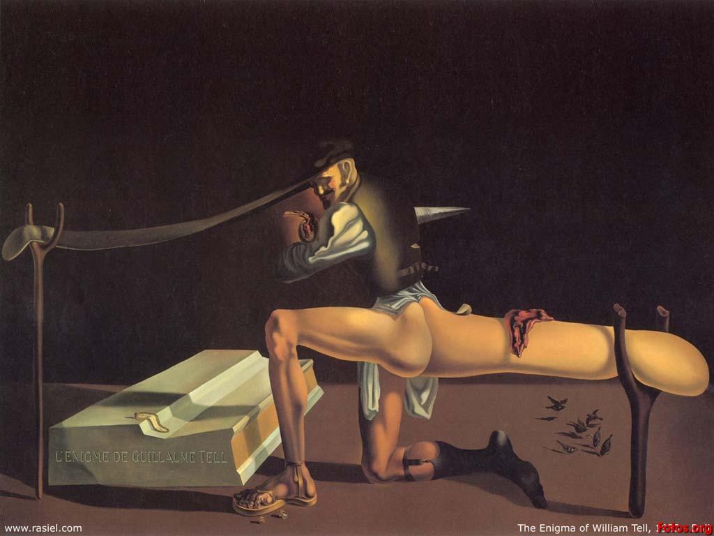 ¿Qué opinan del Lenin de Salvador Dalí? 3salvador-dali-the-enigma-of-william-tell